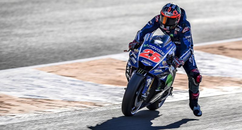 test Twitter Media - The #MovistarYamaha #MotoGP Team found their mojo on the first day of testing in Valencia: https://t.co/8ABcpvAjT6 #2018StartsNow https://t.co/i0WyJbfDJP