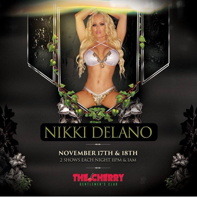 Meet me live this weekend Nov 17 & 18 at the amazing @CherryClubHSV in Huntsville Alabama for 2 sexy