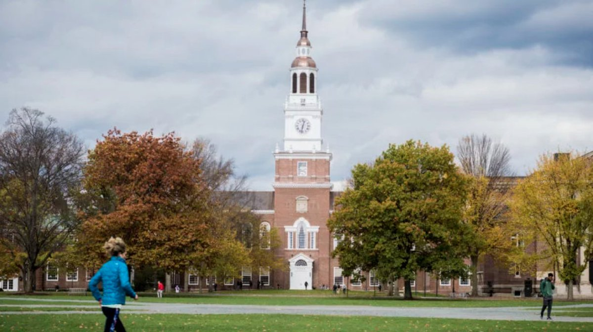 Woman says Dartmouth professor under criminal investigation groped her in 2002
