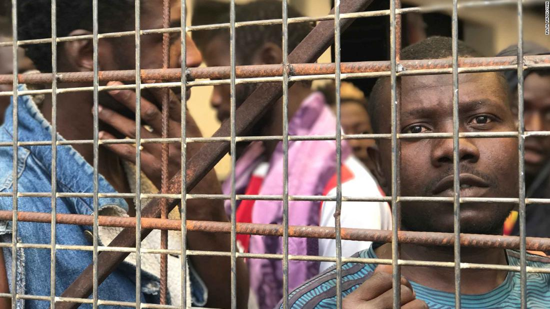 What it's like to be trapped inside Libya's government detention centers