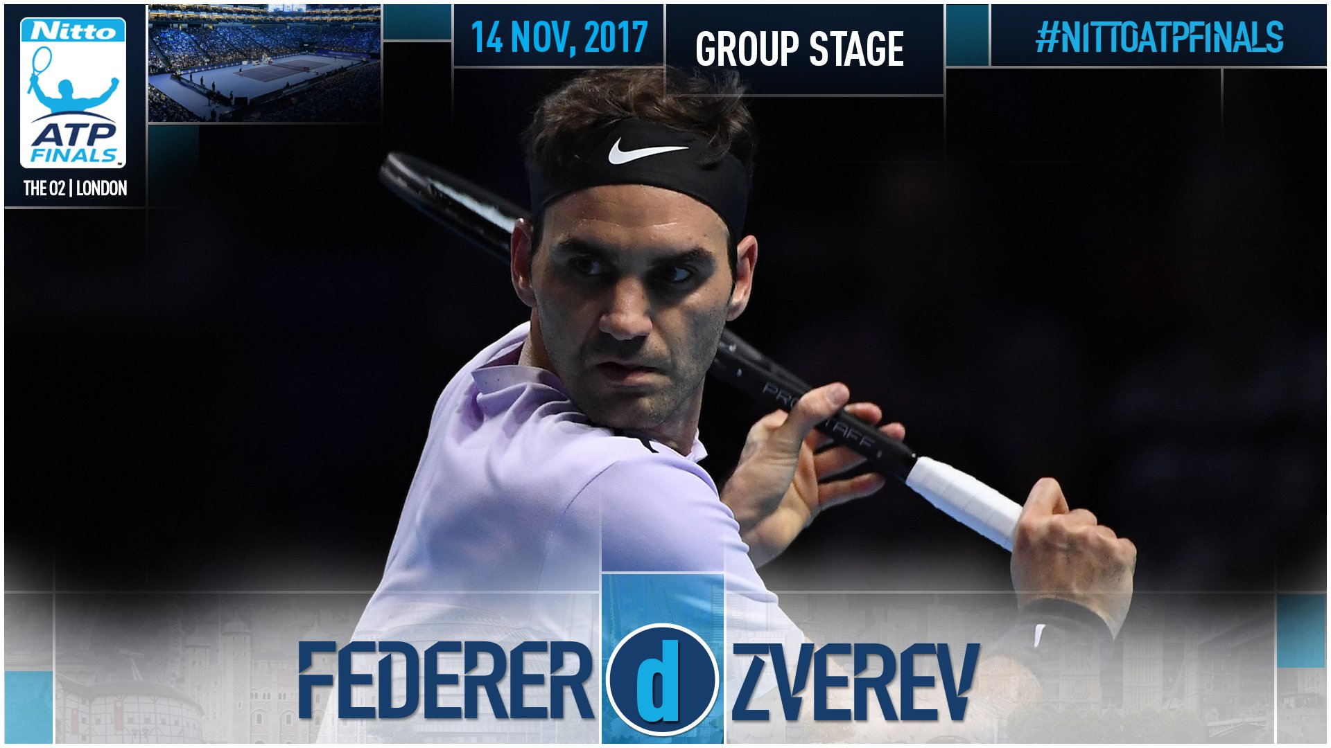Federer is 1st into the #NittoATPFinals semi-finals after topping Zverev 7-6(6) 5-7 6-1 ➡️ https://t.co/0HcybAsv2l https://t.co/NjYcsEwcR3