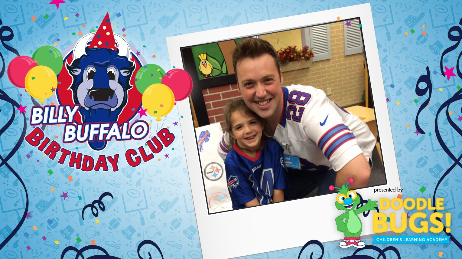 Sign up your child for the @DoodleBugsUSA Billy Buffalo Birthday Club! https://t.co/yxAZfveOj9 https://t.co/bqqq6Zdxil