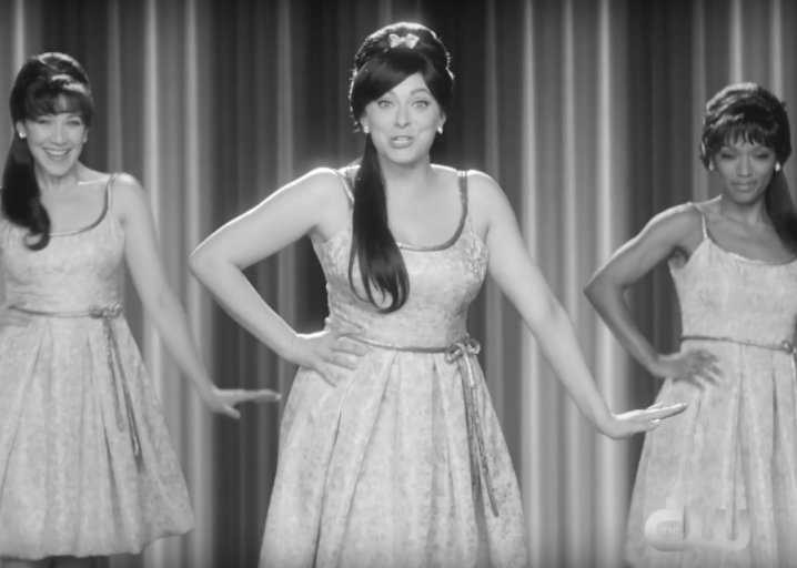 Crazy Ex-Girlfriend's Ronettes-inspired song is zany and fun—until you listen to the words: https://t.co/mqmmL1ZkqH https://t.co/7NAMj8ow2f
