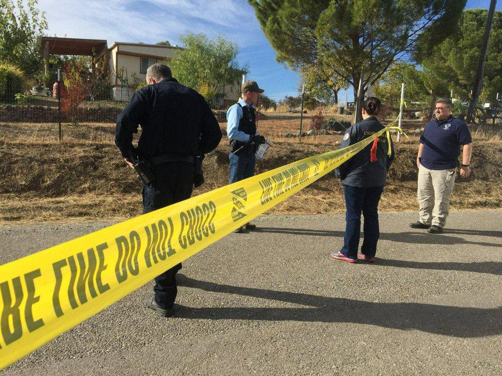 4 killed, children wounded, suspect dead in Tehama County shooting