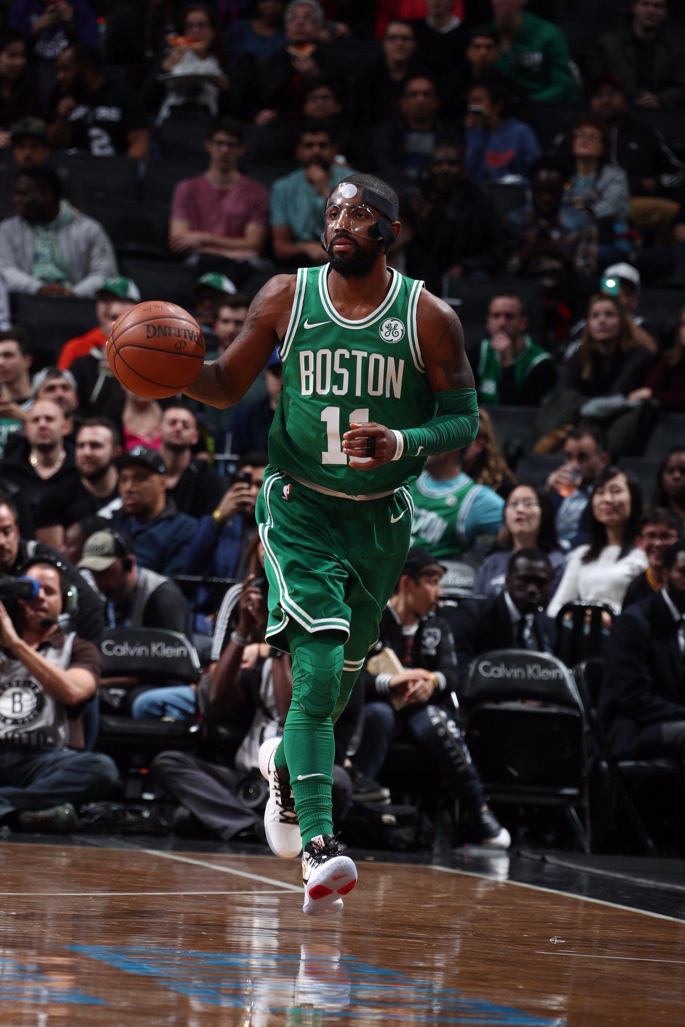Mask on. #Celtics https://t.co/sje6OyASqu