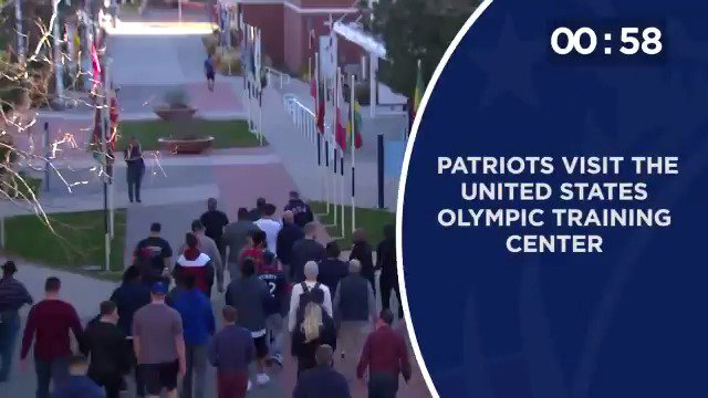 #Patriots visit Olympic Training Center; prepare for a week of work in Colorado Springs.  Today's news: https://t.co/7ZSOdobBcI