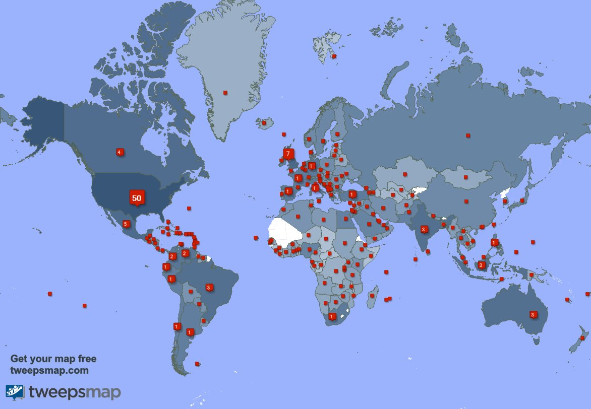 I have 509 new followers from USA, Mexico, Australia, and more last week. See Rw9AAvUybD