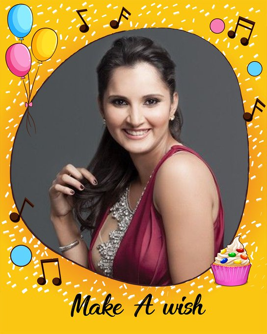 Happy birthday to India\s popular tennis player, Sania Mirza!!!