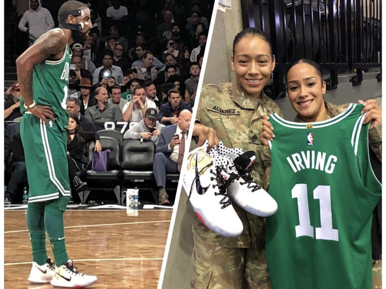 Thank you for your service!   #HoopsForTroops  #ThisIsWhyWePlay https://t.co/rZxad79sFE