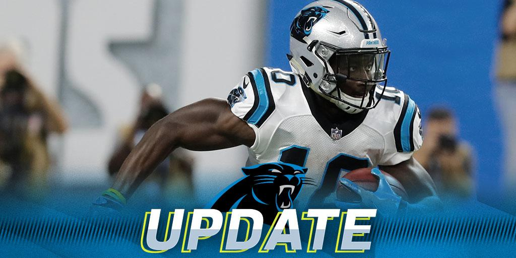 Panthers rookie WR Curtis Samuel to undergo season-ending ankle surgery: https://t.co/Jf4GZx54Ww https://t.co/sV4osmFv3H