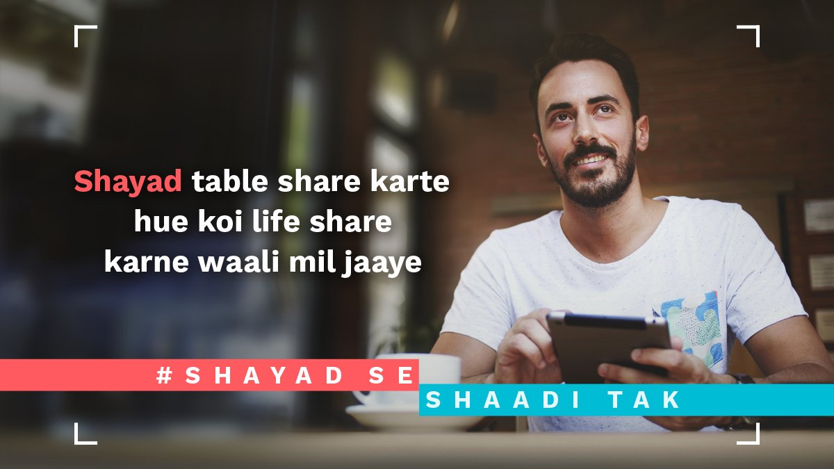 test Twitter Media - Restaurants are places for food lovers! Not for finding your LOVE #ShayadSeShaadiTak https://t.co/G1bmuP5e6c