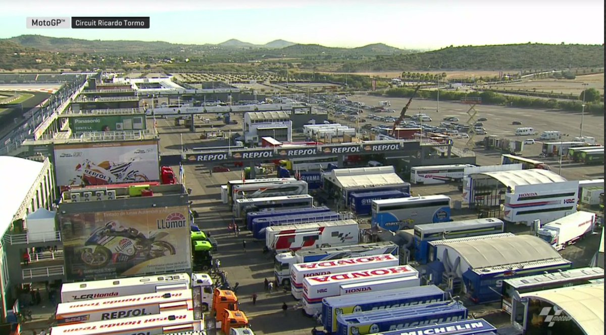 test Twitter Media - Good morning from sunny Valencia, it's the final day of track action with the #MotoGP bikes all together in 2017! We're about to get underway with today's session...  Got any questions for our commentators? Use #TechTalk! https://t.co/cFVzPRf2QD