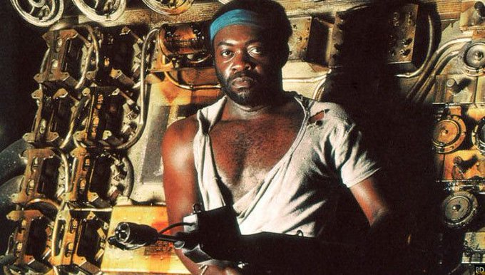 Happy Birthday Yaphet Kotto! 78 today! Maybe now we can discuss the bonus situation?