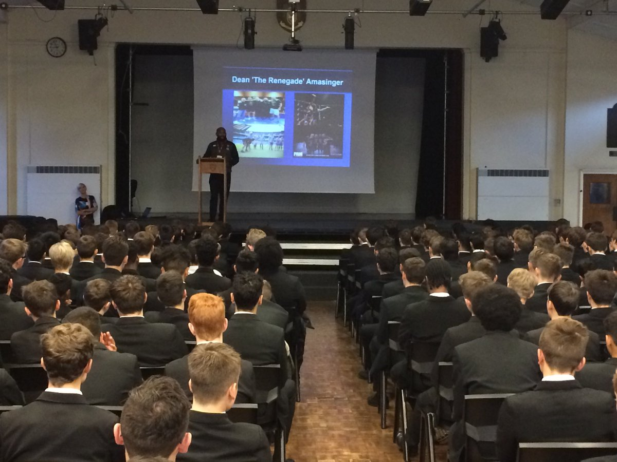 test Twitter Media - Thank you to former student Dean Amasinger for delivering motivational and anti-bullying assemblies this week. Quite inspirational. https://t.co/7qFdzUZxFJ