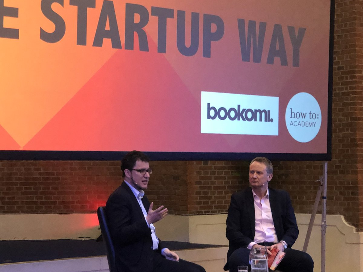 test Twitter Media - The startup entrepreneur @ericries discussing with Richard Kilgarriff how businesses can employ startup techniques to drive #innovation @bookomi #startups https://t.co/IVZLuDWeMR