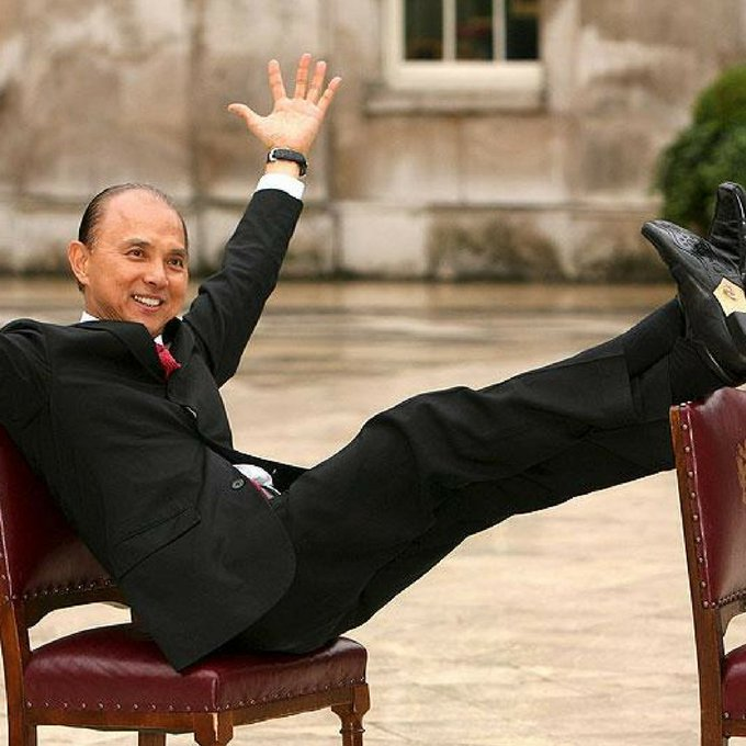 """The right shoe can make everything different\"". Happy birthday Jimmy Choo"