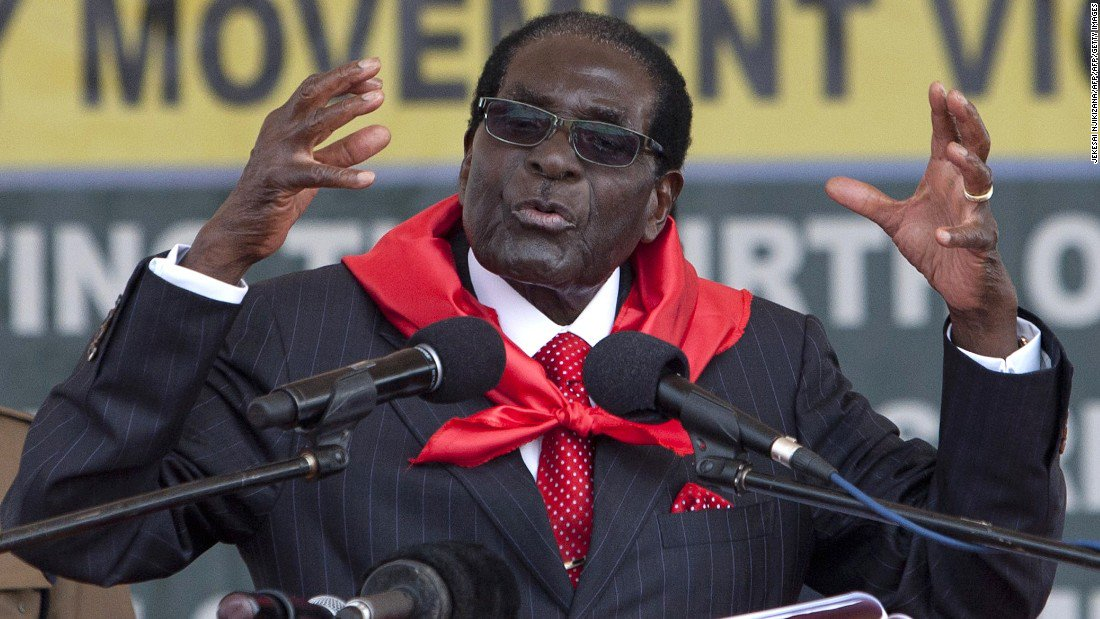 Zimbabwe: Uncertainty over President Robert Mugabe's whereabouts as military denies coup