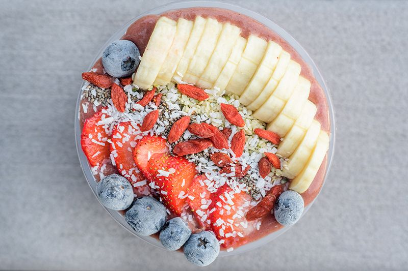 A Cafe Devoted to Smoothie Bowls Just Opened in Newark