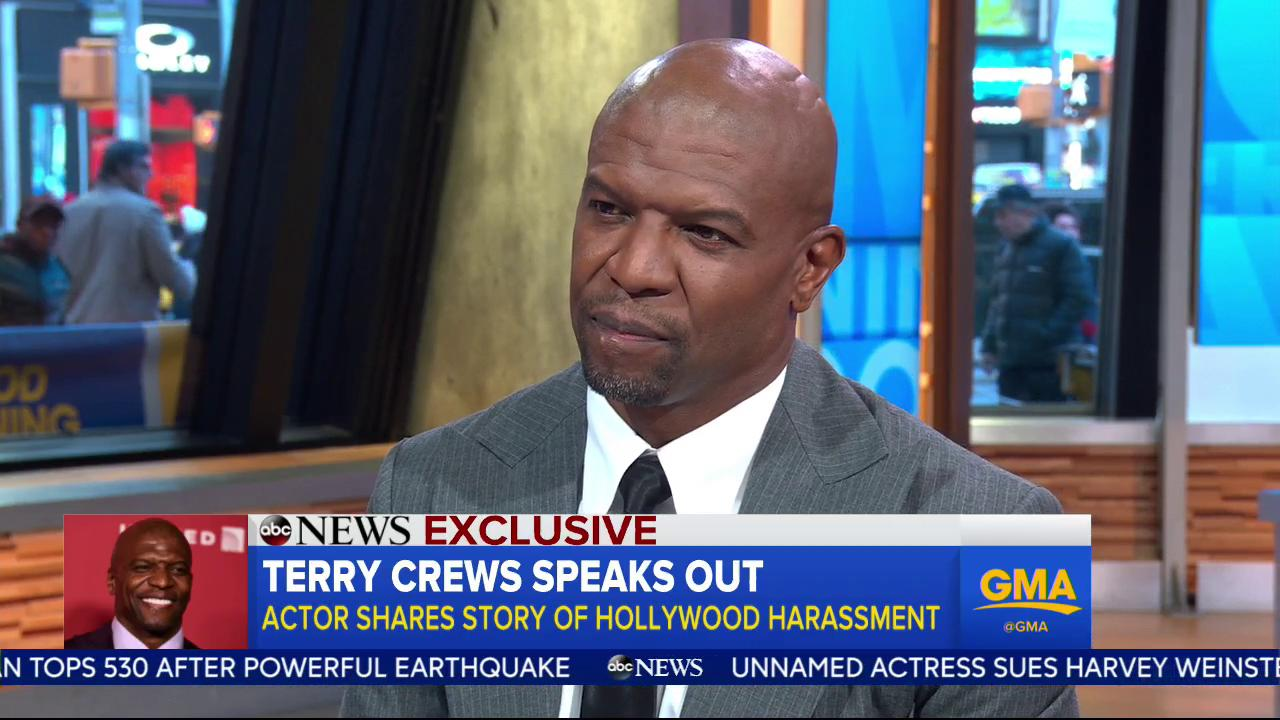 EXCLUSIVE: @TerryCrews speaks out; actor shares story of Hollywood harassment: https://t.co/JfBIpbGLMq https://t.co/X8l4Bb1ZNU