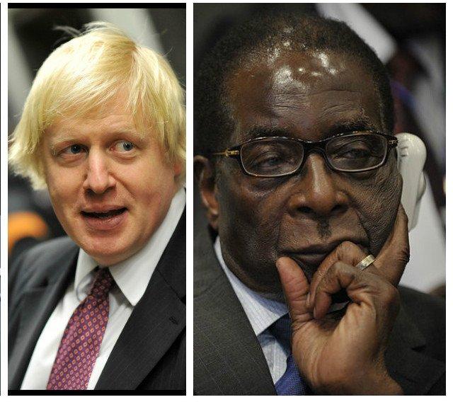 Boris Johnson announces Robert Mugabe wasn't doing anything wrong and has been 'training journalists'. https://t.co/EJVJaZVJcM