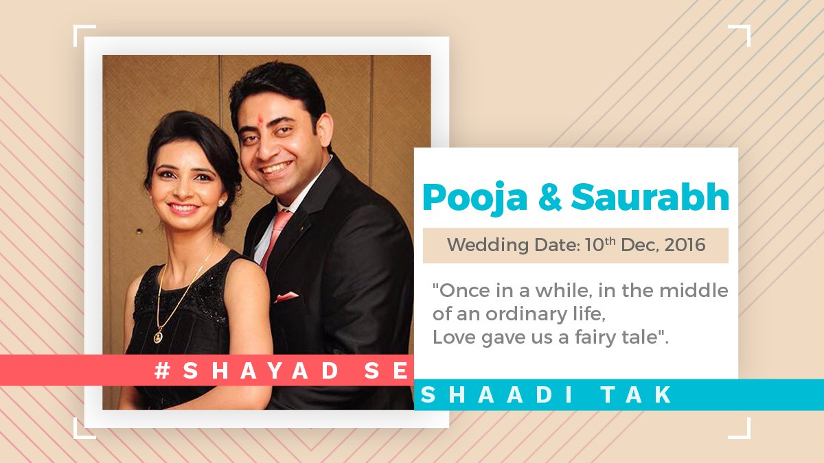 test Twitter Media - You can also write your own fairytale, just like Pooja & Sourabh. One tip: Move out of the Shayad world! #ShayadSeShaadiTak https://t.co/lTm6eYlzcI