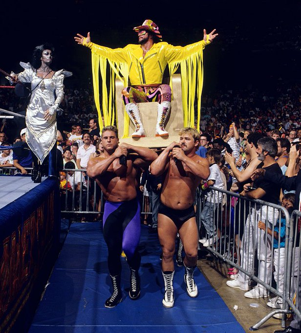 Happy  Birthday to the Macho Man, Randy Savage. He would\ve been 65 today.