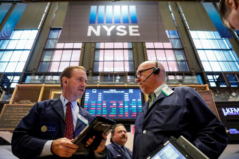 Wall Street set for lower open on oil slide