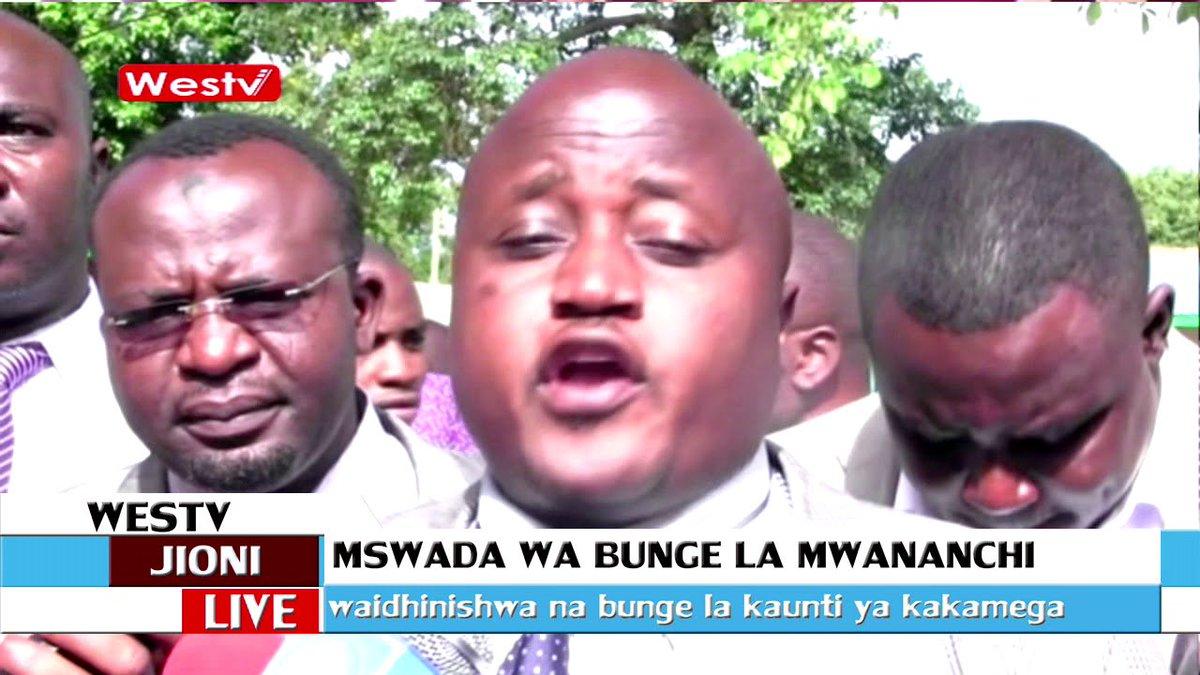 Bunge la Kakamega limepitisha mswada wa bunge la mwananchi