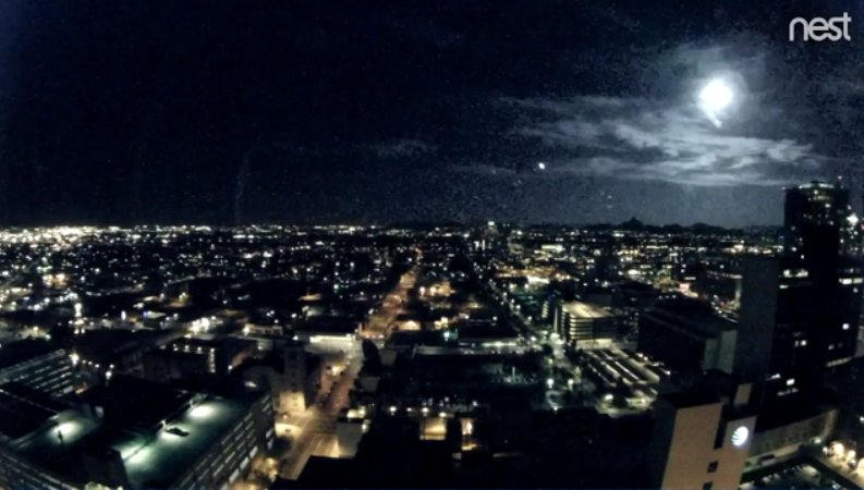 Watch: Phoenix City Cam captures meteor light up the night sky | The Kansas City Star