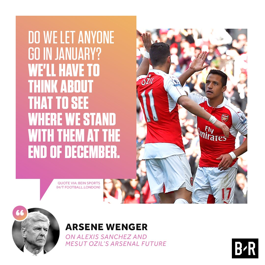 Arsenal will decide on Alexis  ozil