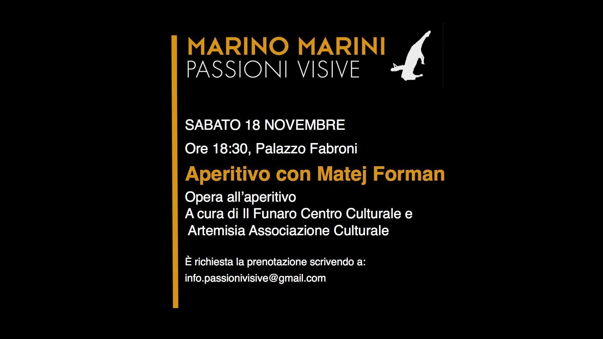18 novembre APERITIVO CON...  #PassioniVisive #pistoia17 https://t.co/n8RNMGOIWZ