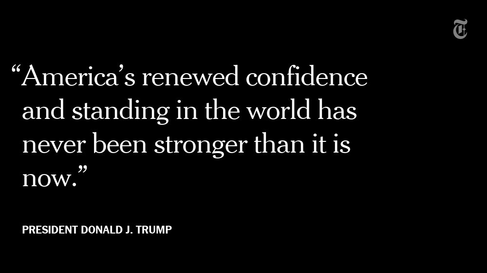 Back from Asia, President Trump declared his 'America First' policy a success https://t.co/9TTQDXLid4 https://t.co/XbxvEMoFLs