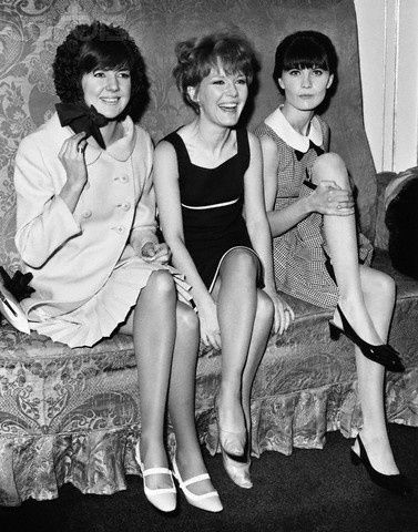 Happy birthday to Petula Clark. Photo (with Cilla Black & Sandie Shaw) by Fred Mott, c.1965.