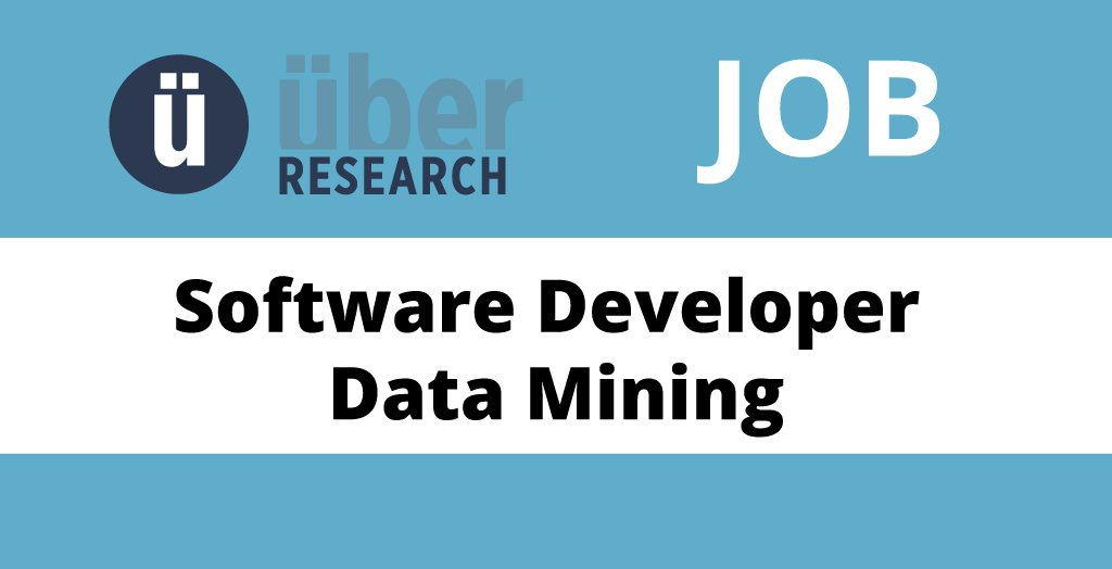 test Twitter Media - .@UberResearch is hiring a Software Developer (Data Mining) in Romania!  https://t.co/gyMbOWPtGB https://t.co/TjAU1W69P7