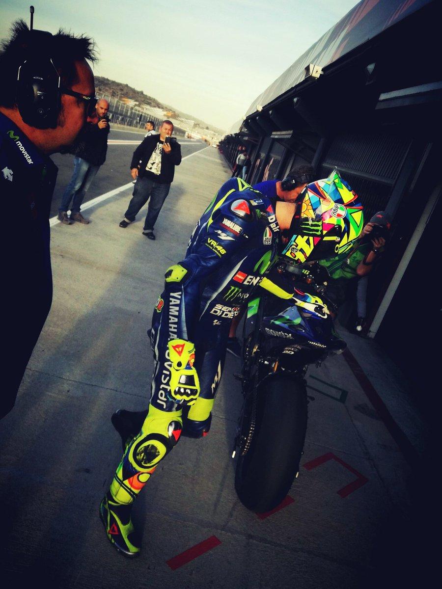 test Twitter Media - #MotoGP #ValenciaTest #Day2  #VR46 7th 1'30.724 +0.691 #ForzaVale46 https://t.co/oNtwXMN2Y4