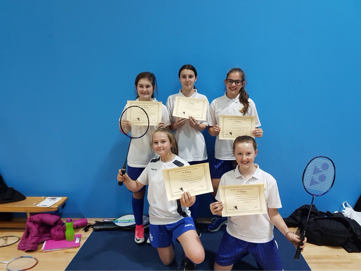 test Twitter Media - Congratulations to the Key Stage 3 badminton teams.  1st place for the girls team and 3rd place for the boys!! Hard work and commitment has paid off 👍🏼🏸🏸 https://t.co/y1TFg4tOSW