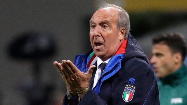 Italy fires coach of men's soccer team after missing World Cup