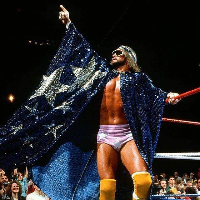 Happy Birthday to the late great Macho Man Randy Savage, a legend, icon and WWE Hall of Famer  Angie TeamChyna