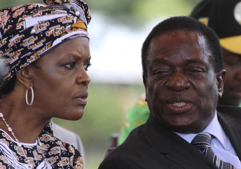 Eyes on the 'Crocodile' as Zimbabwe military sweeps to power