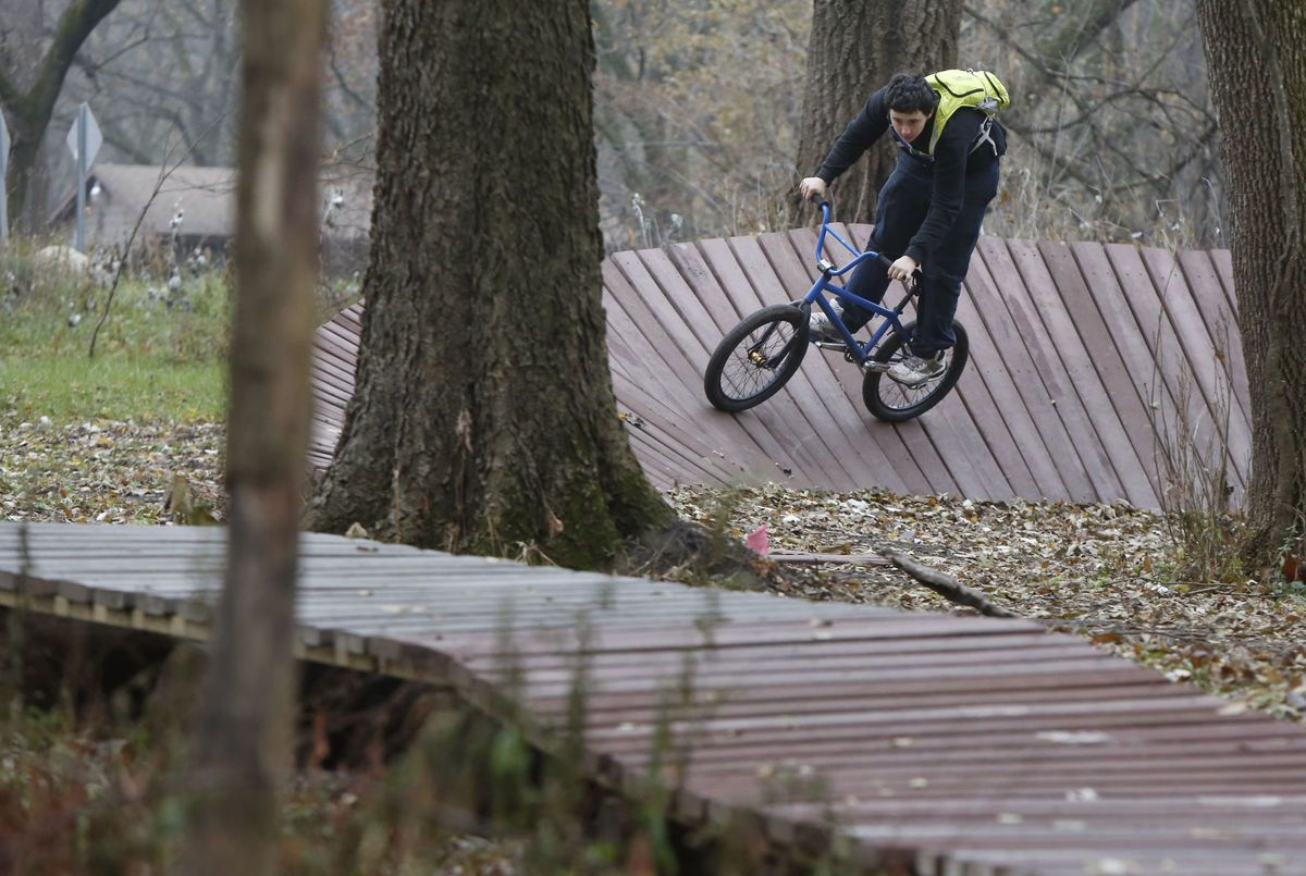 All-purpose bike park up and rolling in Cedar Falls