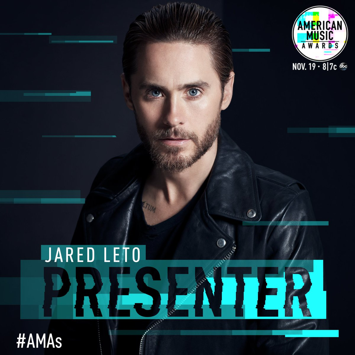 Presenting at this year's @AMAs - tune in LIVE this Sunday at 8/7c on ABC. #AMAs https://t.co/hc1UyB9Nao