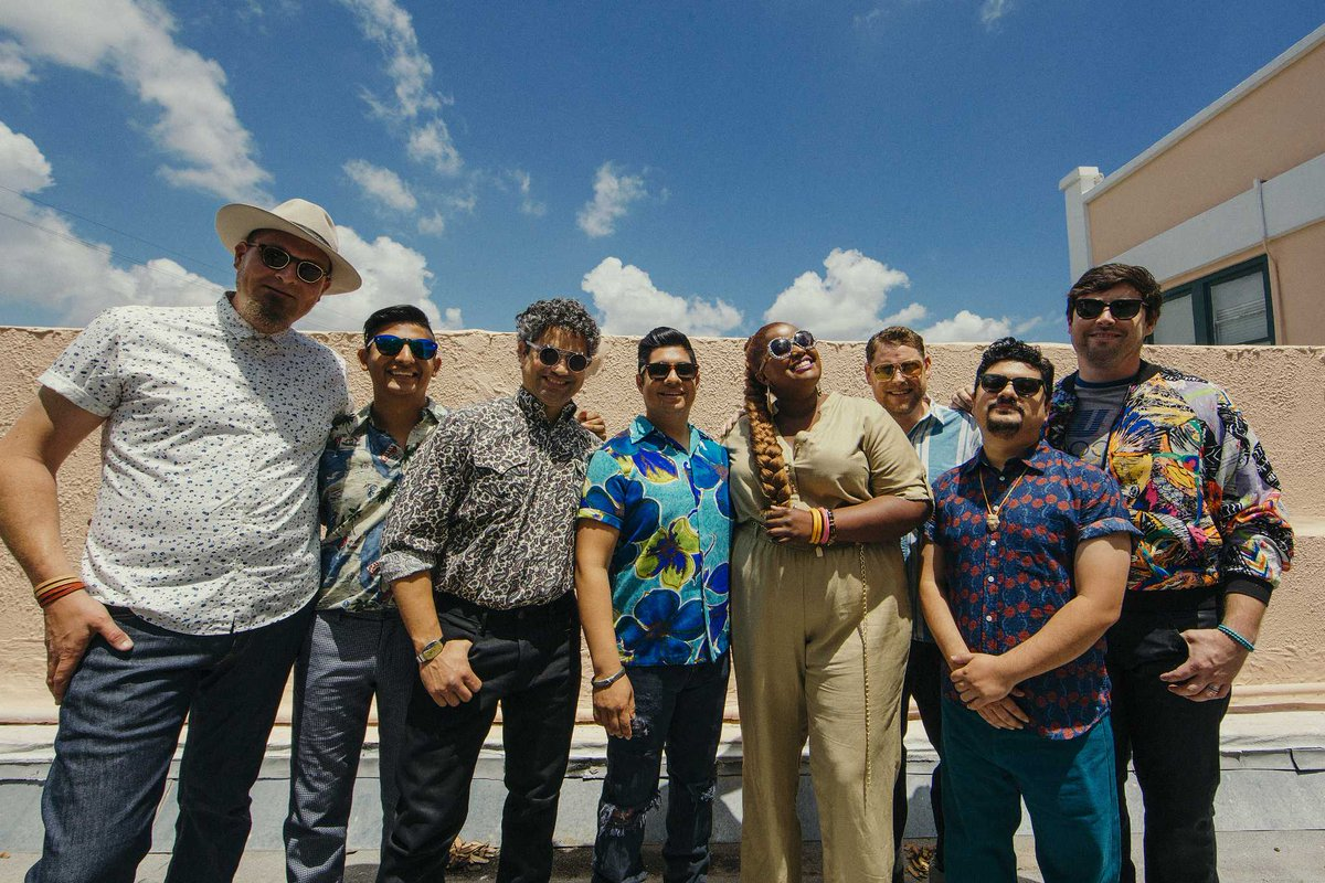 The Suffers debut new song 'I Think I Love You'