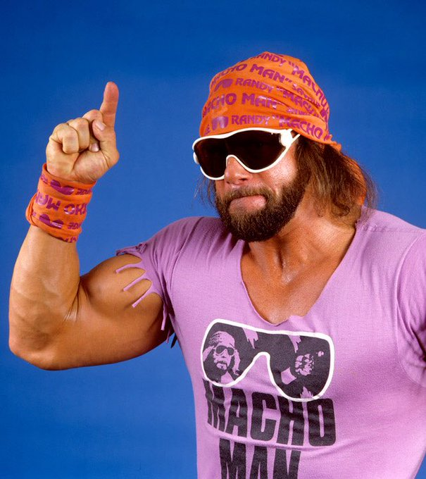 Happy Birthday to the cream of the crop, the late Macho Man Randy Savage.
