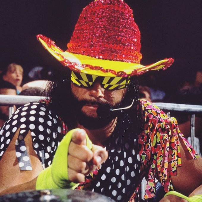 "Happy Birthday to the late ""Macho Man\"" Randy Savage."