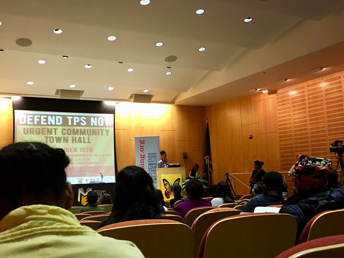 test Twitter Media - At the #DefendTPS town hall organized by @MomsRising @MamasConPoder (@ Medgar Evers College) https://t.co/yV4qqTF55y https://t.co/4b2Xo9G2ha