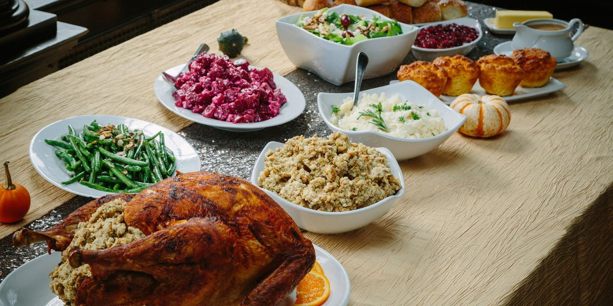 Going buffet-style for Thanksgiving? Here are the rules