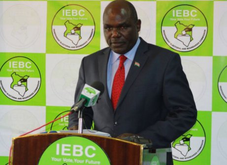 IEBC says it did not cancel election in 25 constituencies affected by violence