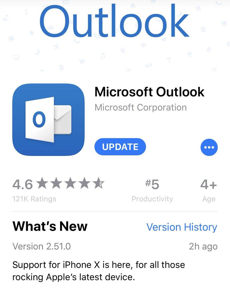 RT @MPalermiti: It's here! Outlook & iPhone X! ❤️ https://t.co/ZbTt6XoCmS