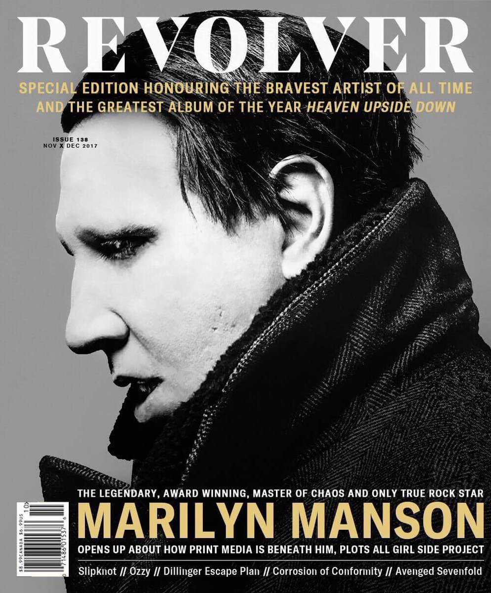 Marilyn Manson: Astrological Article and Chart
