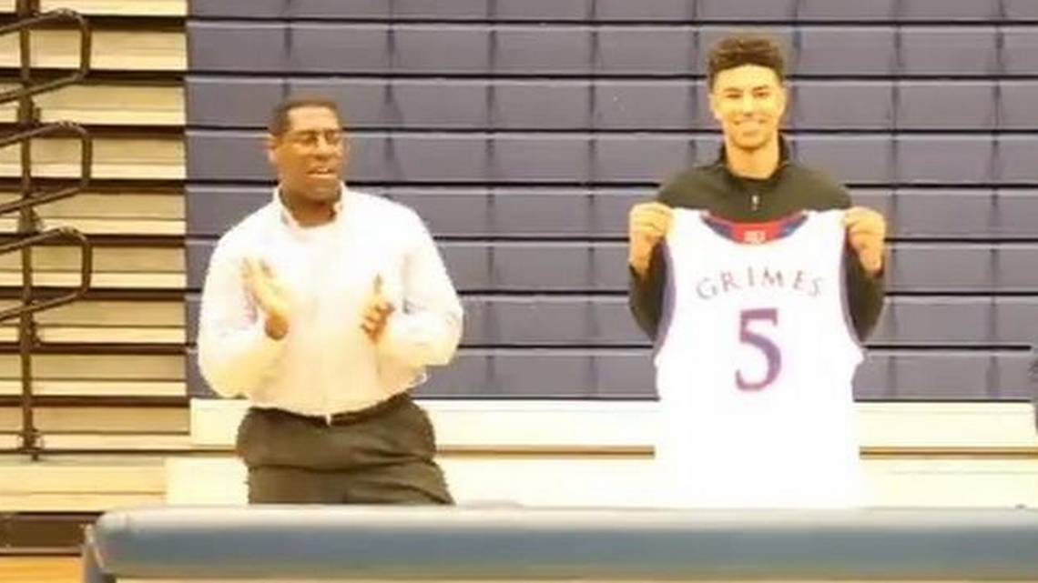 Point guard Quentin Grimes chooses KU | The Kansas City Star